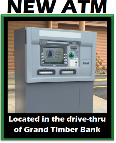 Check out our new drive thru ATM