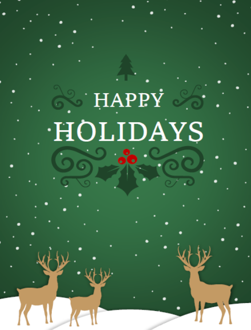 Happy Holidays from Grand Timber Bank